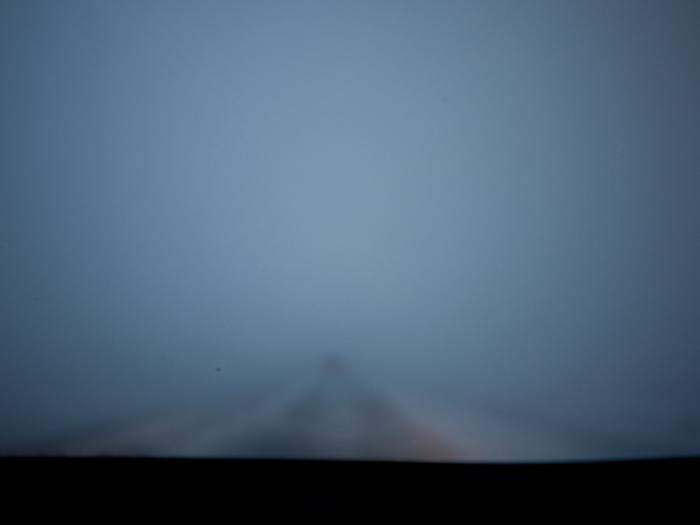 Условията на пътя бяха такива по това време