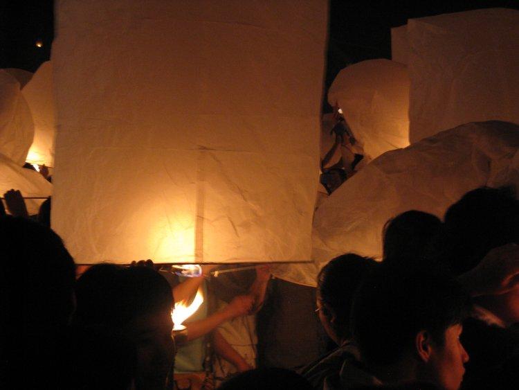 Фестивала Yi Peng