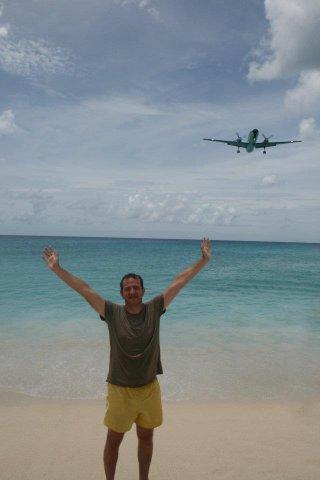 Аз на Махо Бийч – самолетната Мека