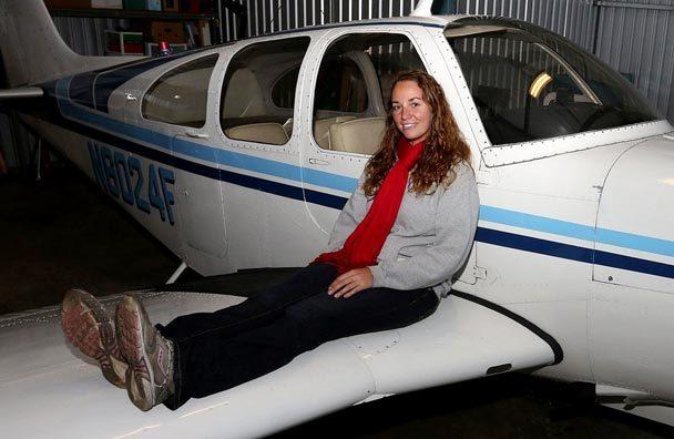 Пътешественичката. Изт: The Seattle Times