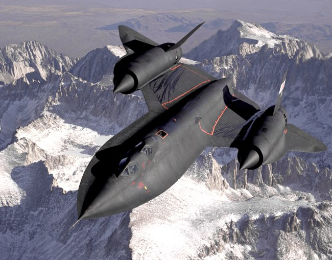 SR-71 Blackbird. Изт: US Air Force/Wikipedia