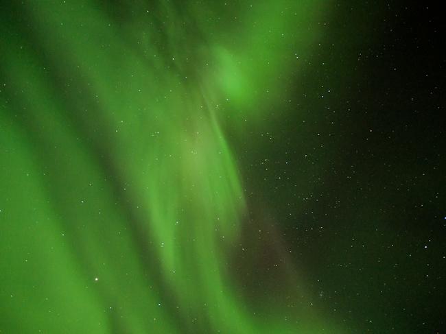 Северното Сияние, Исландия