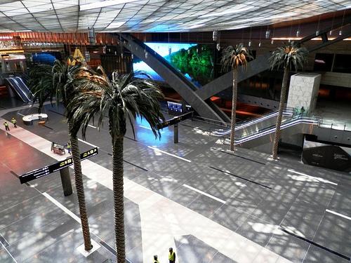 Новото летище в Доха, Катар. Изт. skyscapercity.com