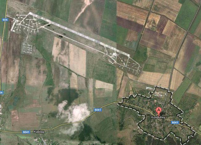 Летището до село Кондофрей