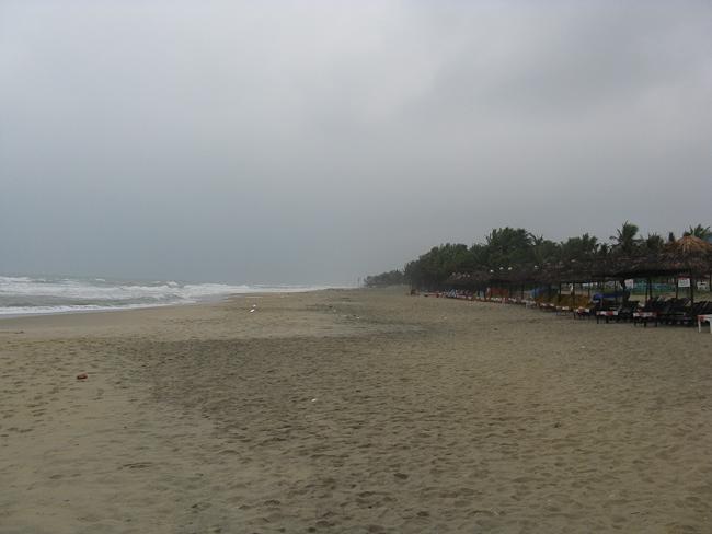 Плажът до Хой Ан