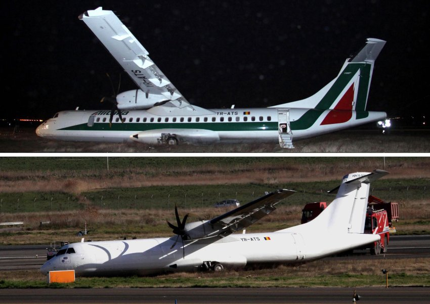 Alitalia – преди и след. Изт.:headlinepong.com