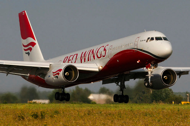 TU 204 на компания Red Wings. Изт: wikimedia commons