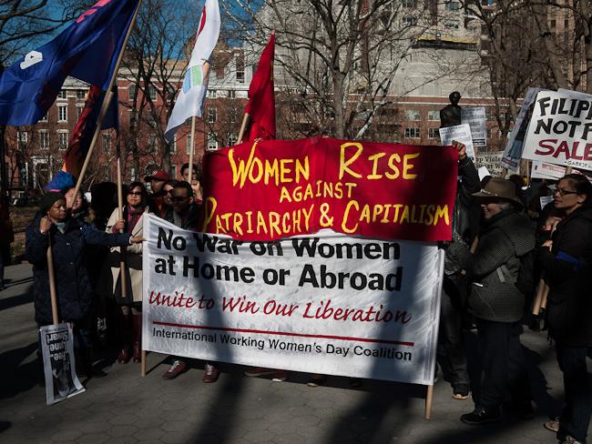 Протест срещу женското насилие