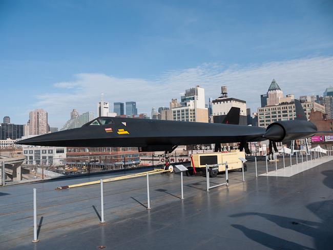 Манхатън на фона на Blackbird
