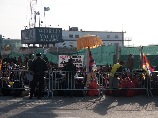 Протест за независимостта на Тибет