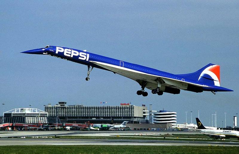 Pepsi Concorde. Изт: Jose M. Palacios/ concordesst.com