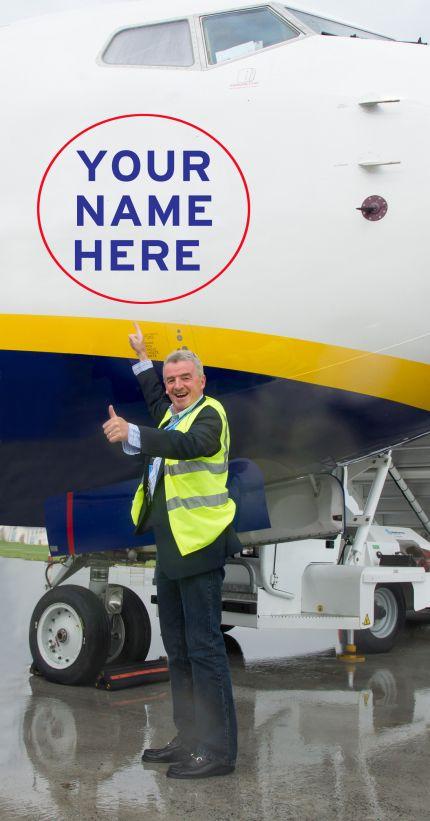 Новата рекламна кампания на Ryanair