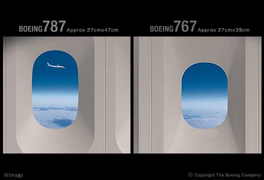 По-големите прозорци на 787