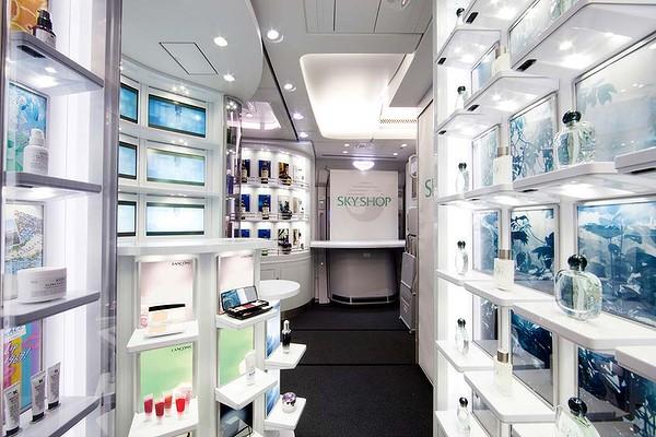 Безмитният магазин на борда на Korean Air