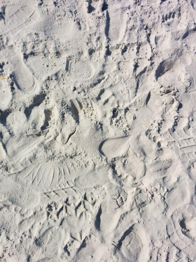 Белият пясък