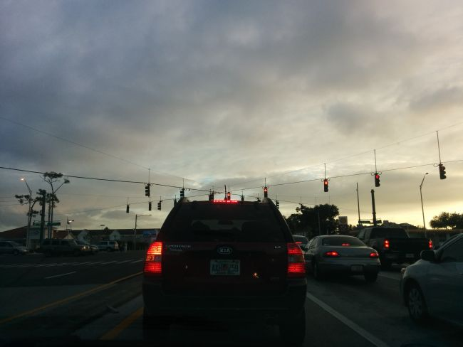 Висящите светофари