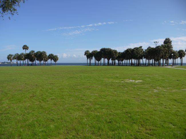 Парк до плажа, идилия.