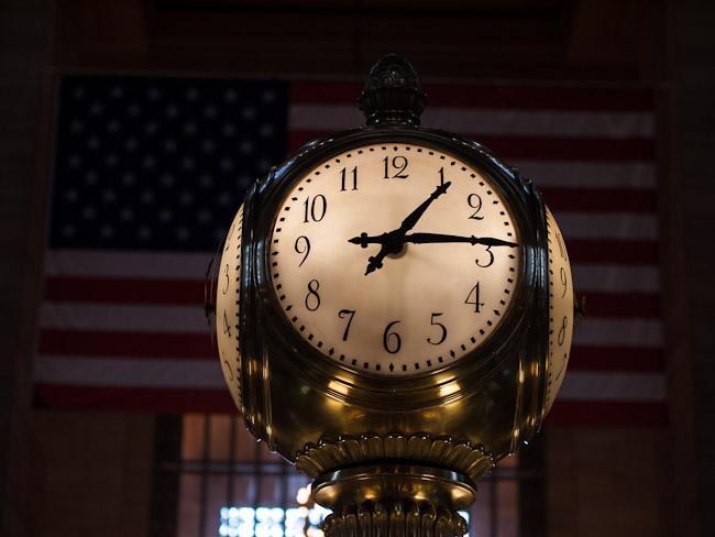 Часовникът в Гранд Централ