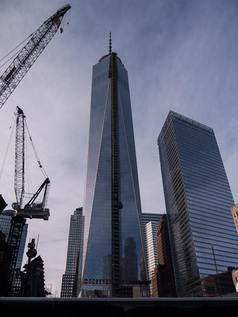 Завършеният нов WTC