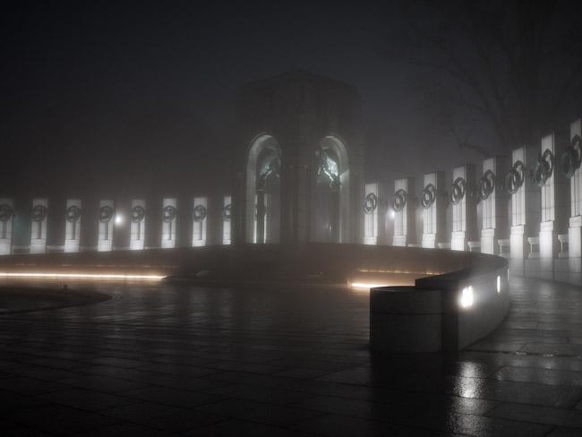 Мемориалът, посветен на Втората световна Война