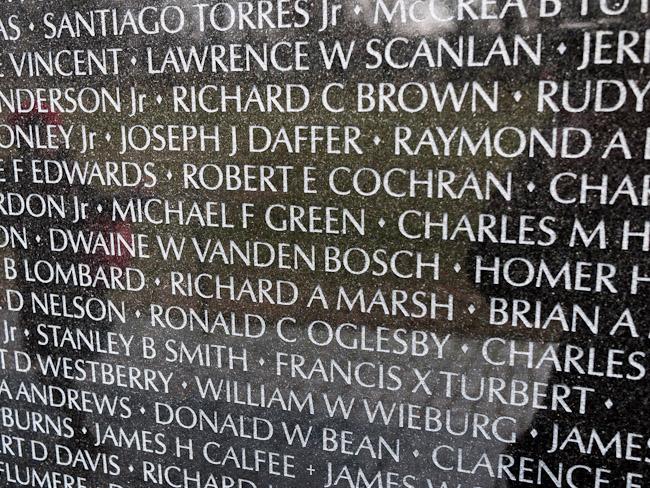 Мемориалът за виетнамската война