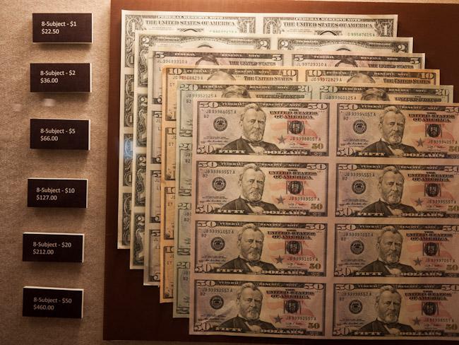 Печатницата за долари